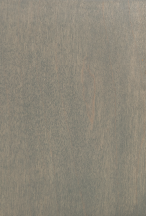 weathered grey on maple