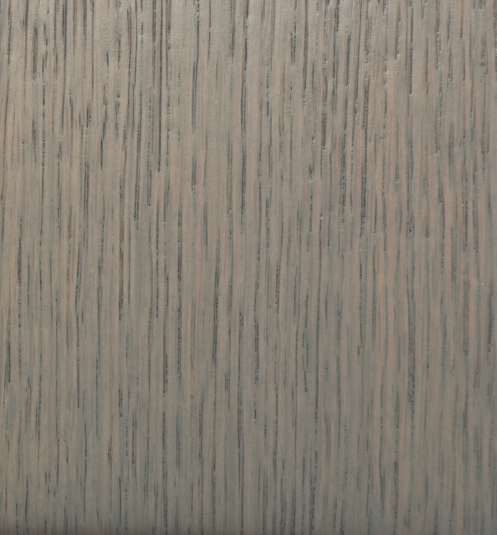 weathered grey on oak